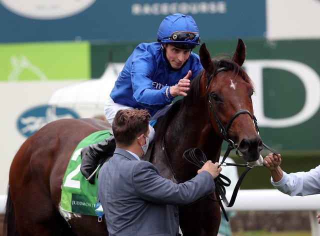 Ghaiyyath could run in the Irish Champion Stakes