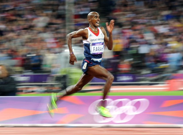 Sir Mo Farah has broken a long-standing world record