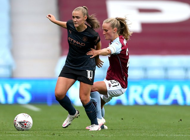 Georgia Stanway scored both of City's goals