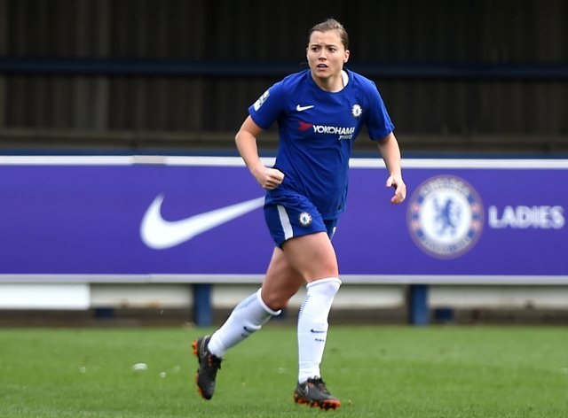 Kirby was told she may not play football again by doctors