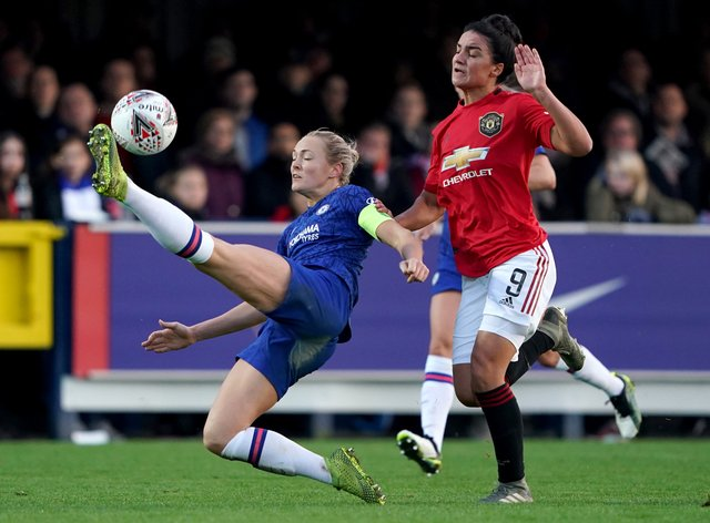 Chelsea will start their WSL title defence today against United