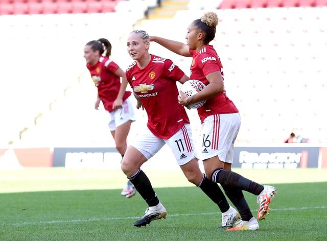 Leah Galton scored United's equaliser