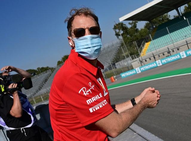 Sebastian Vettel is in line for Racing Point