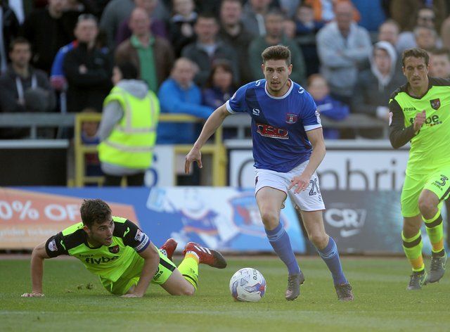Former Carlisle frontman Shaun Miller joined the Trotters over the summer break