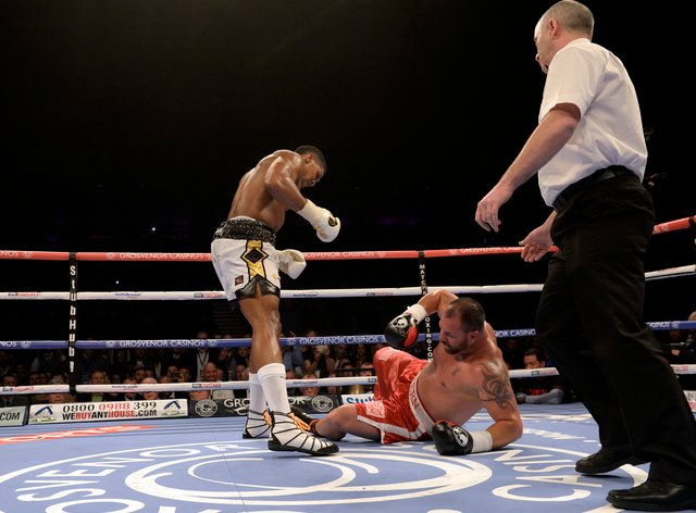 Gavern fought Joshua and Wilder but believes sparring Fury was the best he faced