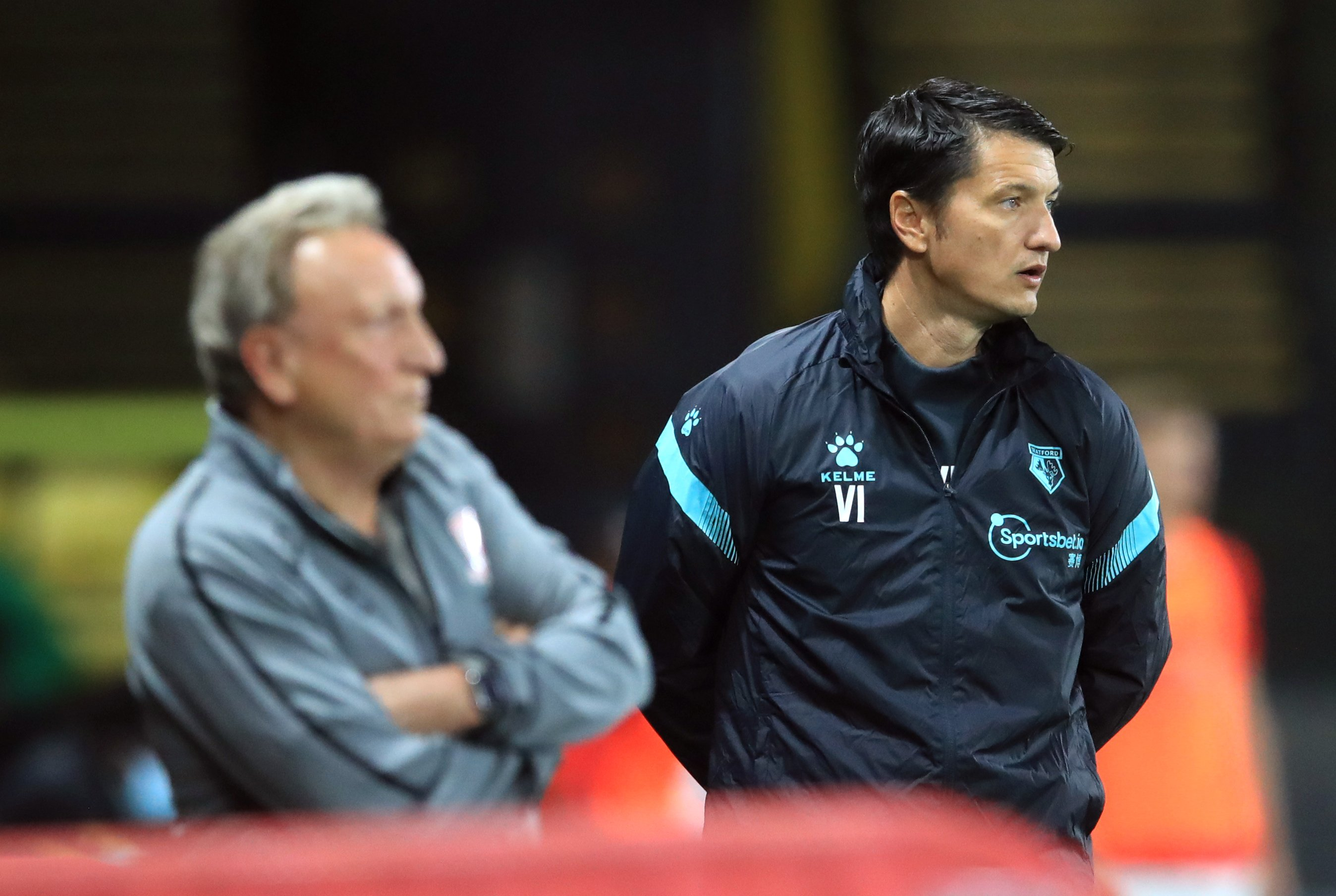 Neil Warnock blames defending as Vladimir Ivic's Watford reign starts with a win