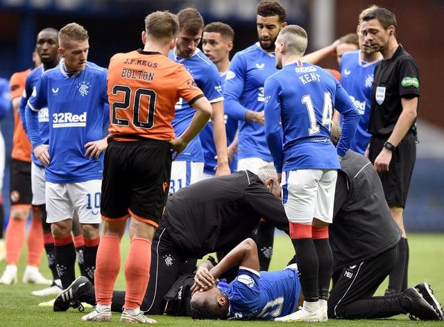 Rangers v Dundee United – Scottish Premiership – Ibrox Stadium