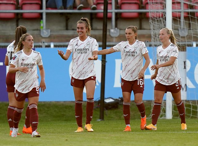 Arsenal produce yet another impressive performance in the WSL