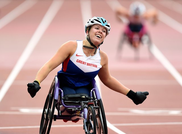 Hannah Cockcroft continues to dominate on the track ahead of the Tokyo Paralympic Games next year