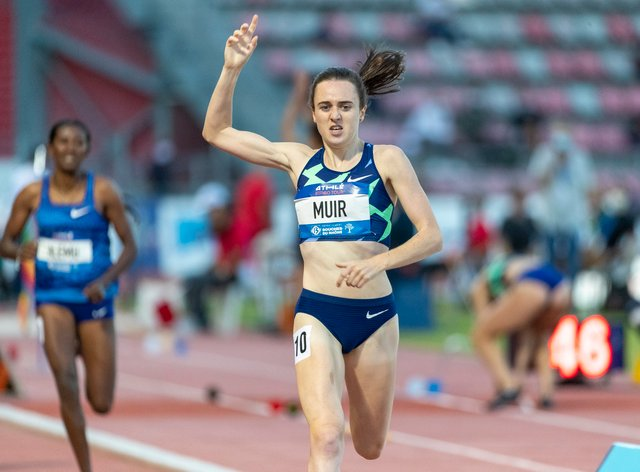 Laura Muir continues to dominate on the world stage
