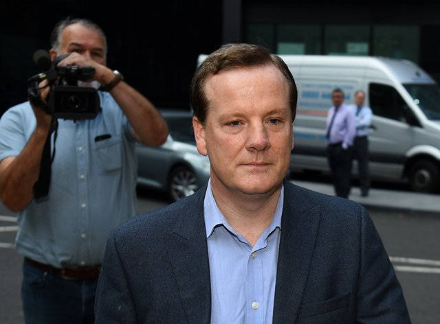 Charlie Elphicke arriving at Southwark Crown Court in London to be sentenced for three counts of sexual assault