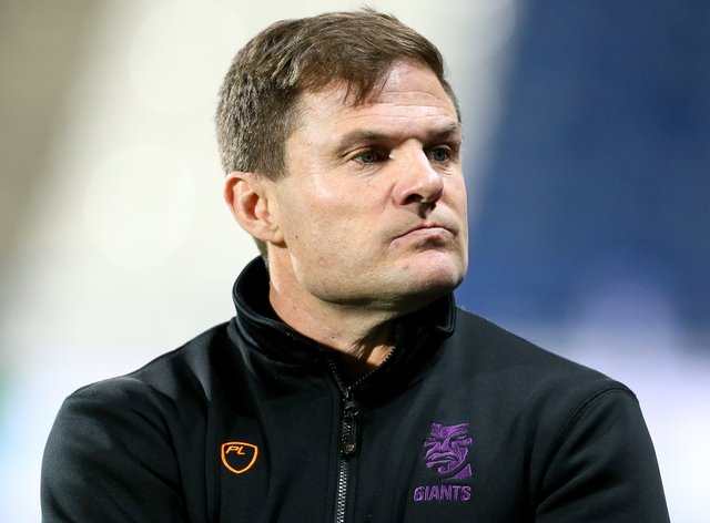 Simon Woolford has left Huddersfield Giants