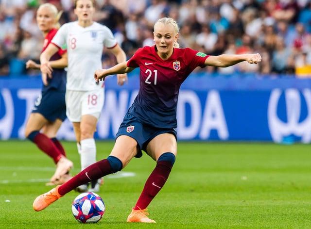 Karina Saevik has signed for VfL Wolfsburg