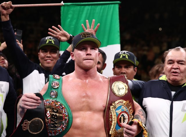 It is unclear whether Canelo's legal dispute will disrupt his plans to fight this year