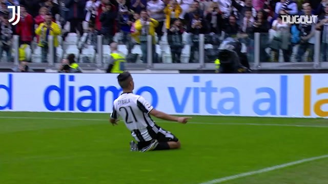 The best home strikes by Juventus against Sampdoria