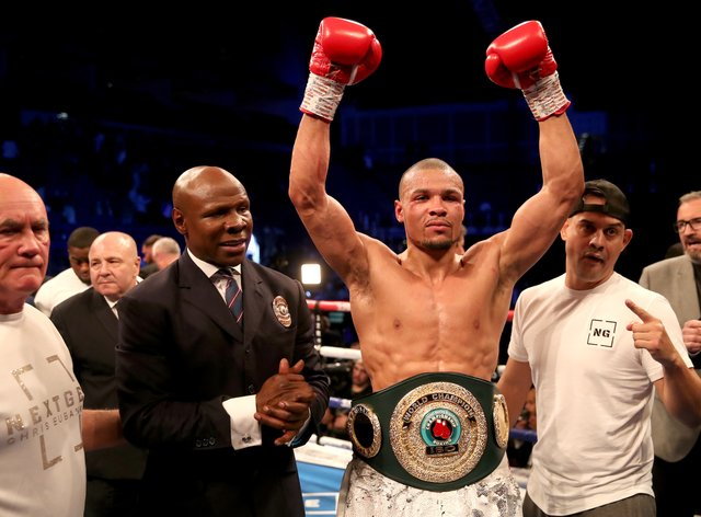 Eubank Jr has only fought two rounds since February 2019