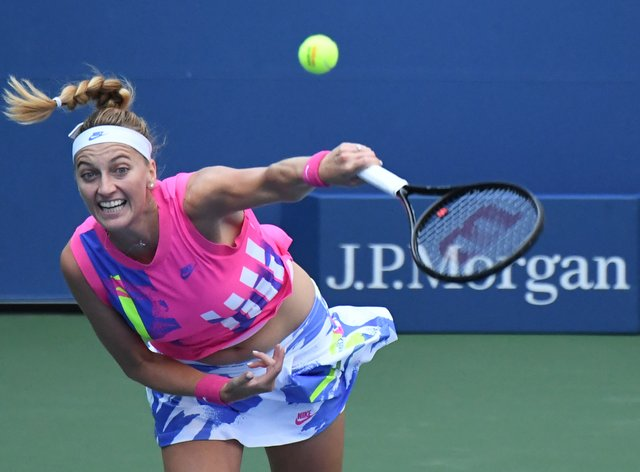 Petra Kvitova says it is sometimes 'tough' being in the 'public eye'