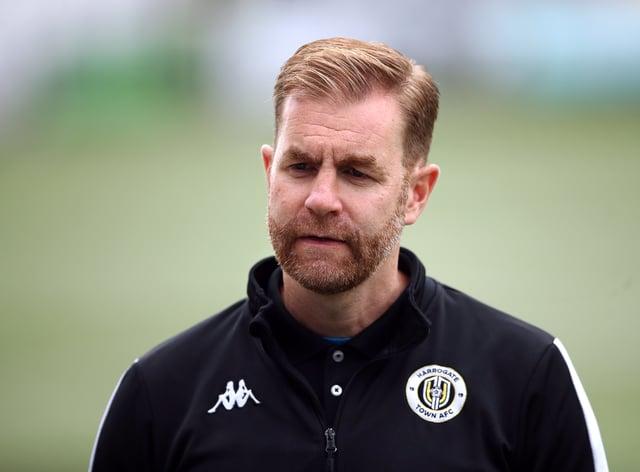 Harrogate boss Simon Weaver could name an unchanged starting line-up again