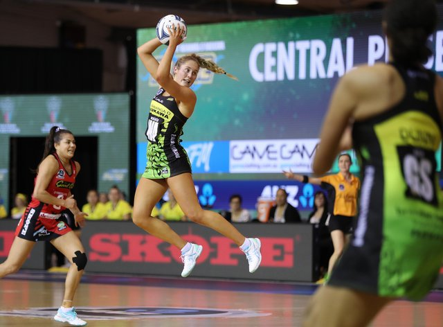 Maddy Gordon is looking forward to a busy season ahead with the Silver Ferns