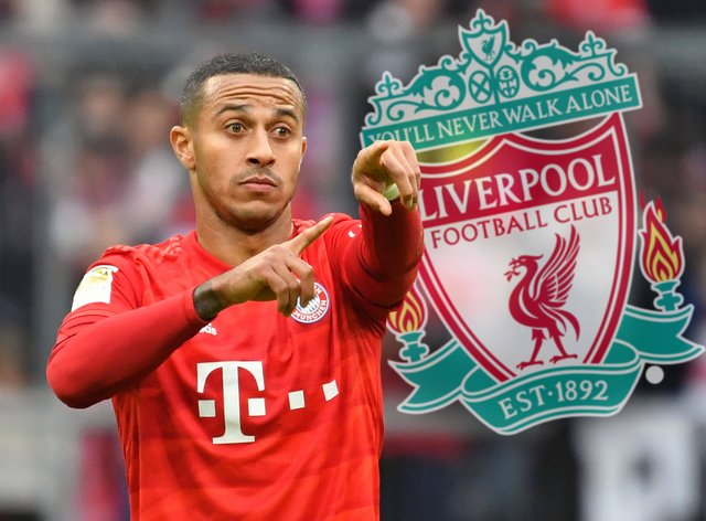 Thiago has officially joined the champions of England