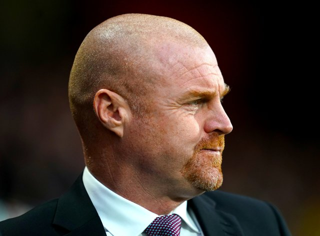 Sean Dyche's Burnley are at Leicester on Sunday