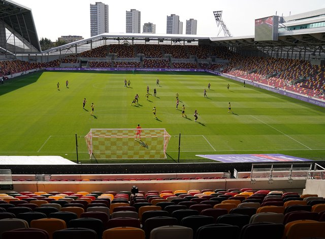 Brentford started life at their new stadium with a victory