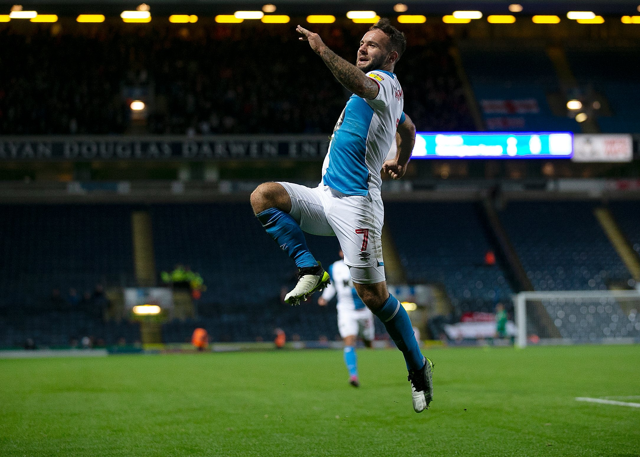 Tony Mowbray impressed with Adam Armstrong after hat-trick against Wycombe