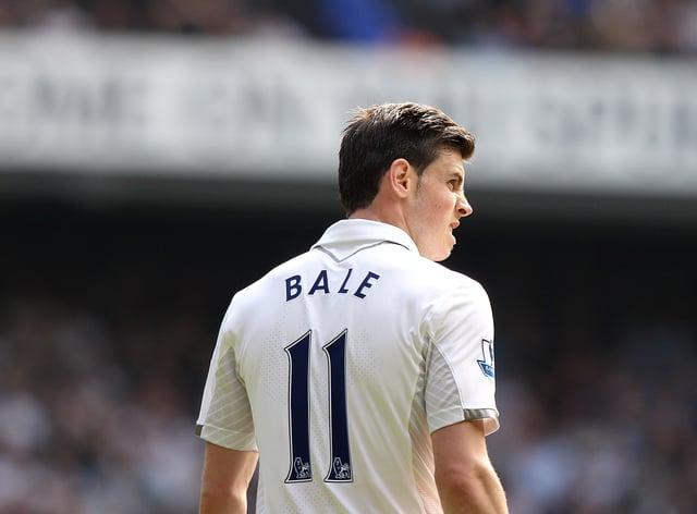 Gareth Bale has returned to Tottenham