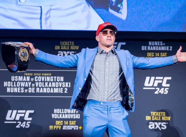 Covington has built his name as one of the most controversial characters in the UFC