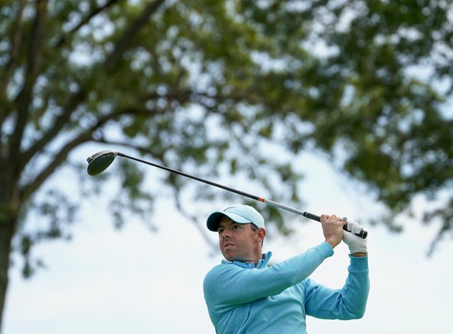 Rory McIlroy's chances quickly faded on day four of the US Open