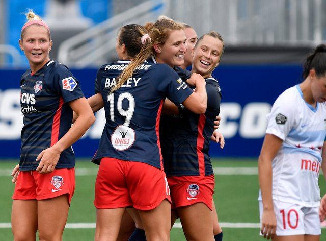 The Red Stars picked up their first win of the NWSL Fall Series