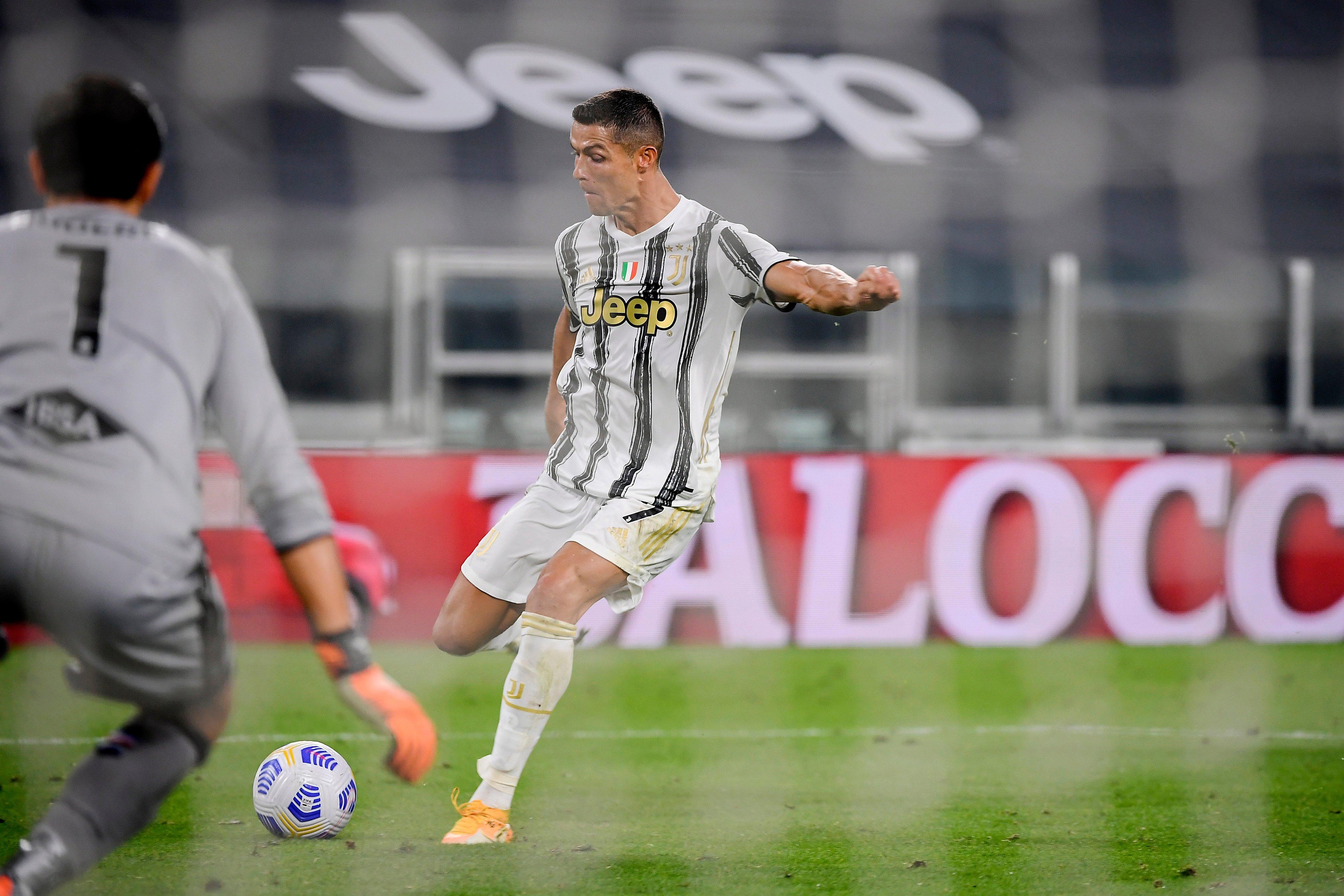 Cristiano Ronaldo scores as Juventus start Serie A season with Sampdoria success