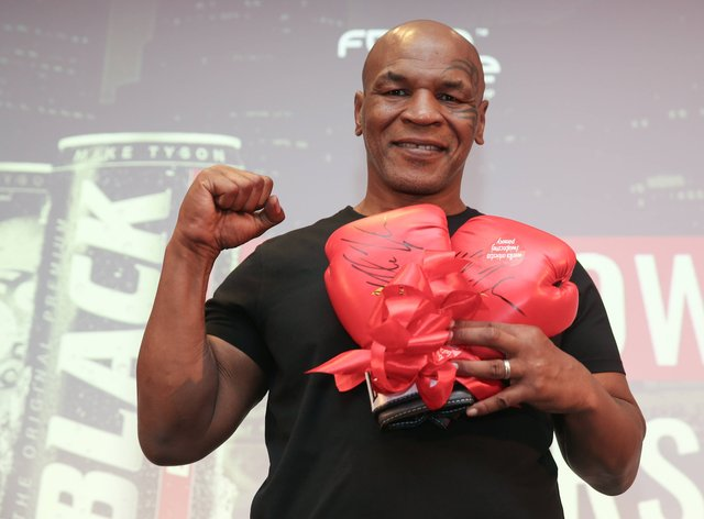 Tyson will return to the ring for the first time in 15 years in November