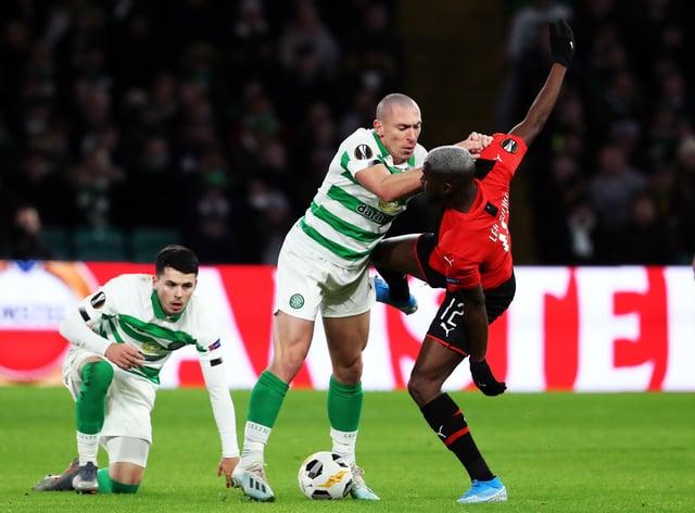 Scott Brown enjoyed Celtic's tussles with Rennes last season