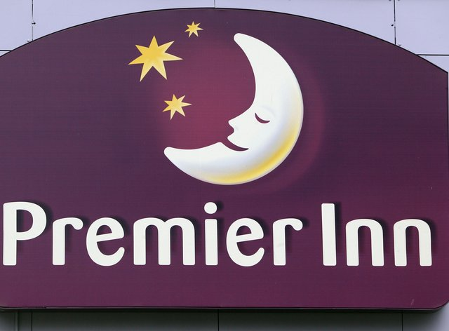 Premier Inn sign