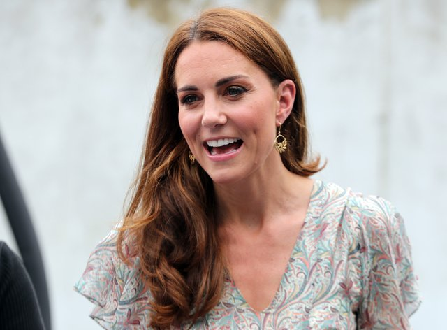 The Duchess of Cambridge heard how peer-to-peer support has been used to help families and how they coped during lockdown