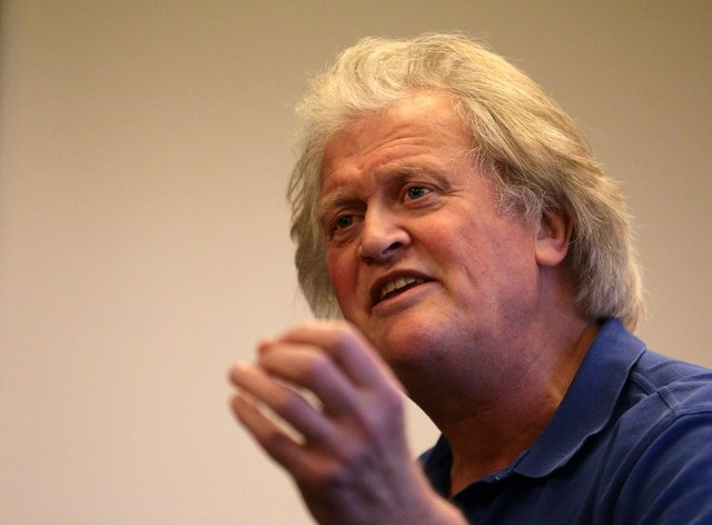 Chairman of JD Wetherspoon Tim Martin (Aaron Chown/PA)