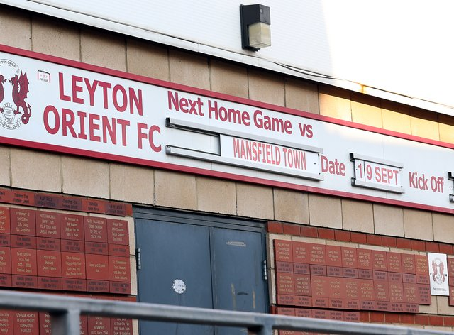 Leyton Orient were forced to postpone their Carabao Cup clash with Tottenham