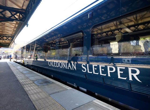 Caledonian Sleeper train