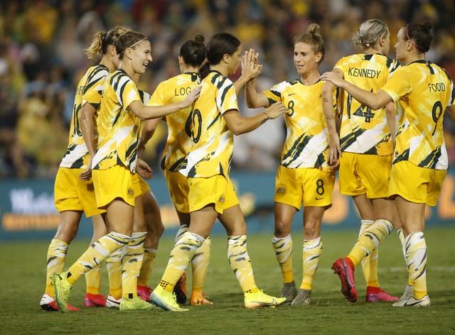 The Australian women's kit was originally only available in men's sizes
