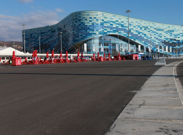 The Russian Grand Prix is staged at Sochi's Olympic Park - venue for the 2014 Winter Games