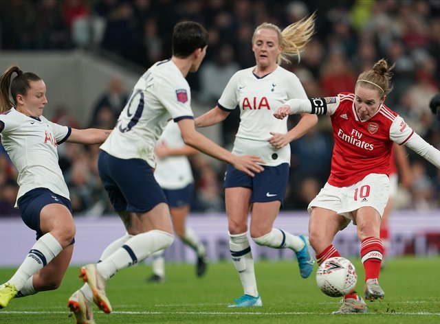 Arsenal beat Tottenham 2-0 the last two times the sides met back in November