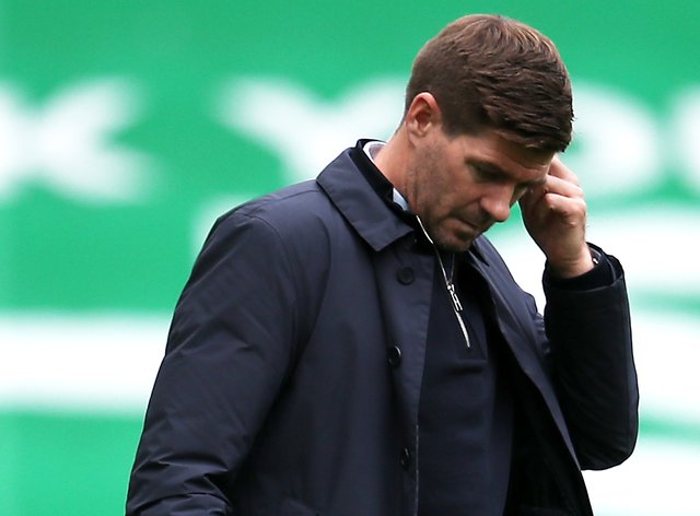 Rangers manager Steven Gerrard was frustrated by his team's defending against Hibs