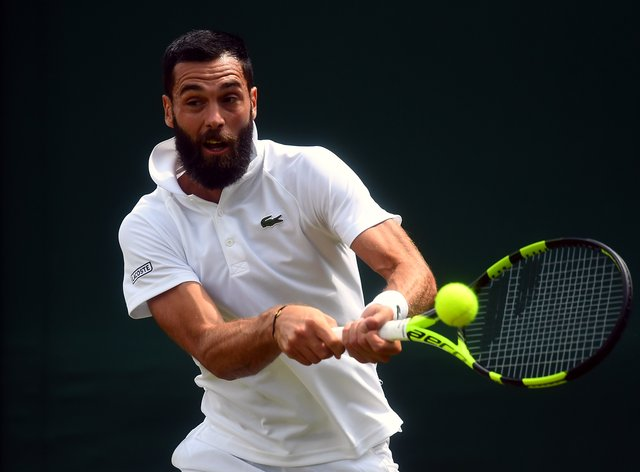 Benoit Paire was allowed to play at the Hamburg European Open despite a positive Covid-19 test