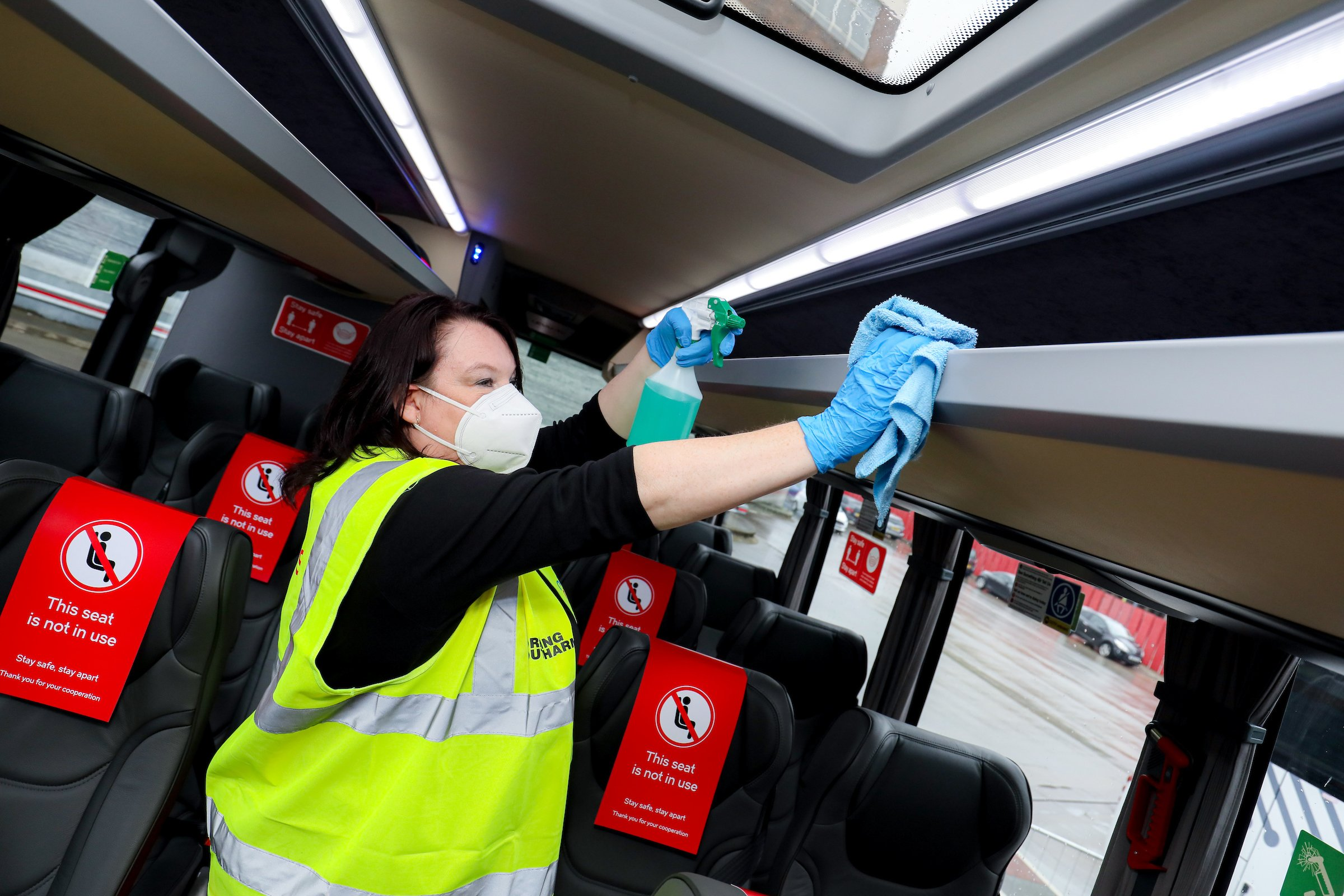 National Express beats previous guidance as passengers get back on buses