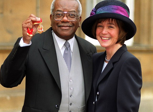McDonald with Josephine, his wife of 34 years
