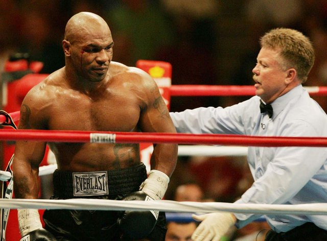 Tyson is making a comeback after 15 years out of the ring