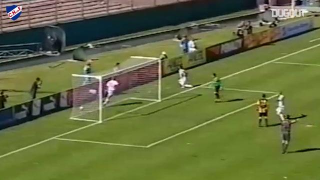 Nicolás Lodeiro's goal and boot-phone celebration in the Uruguayan Clásico