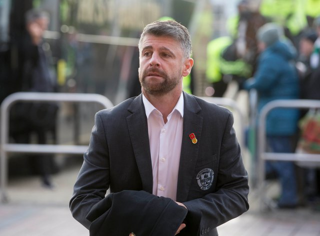 Stephen Robinson's side had a man sent off in Israel