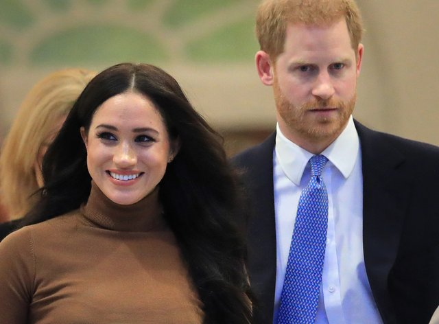 Meghan and Harry under fire